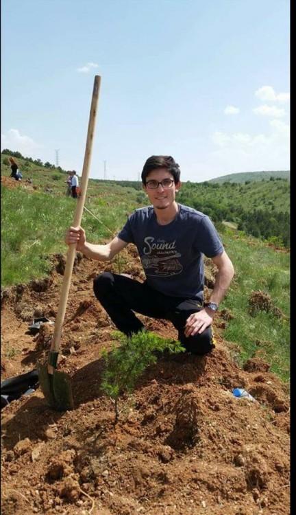 Berkay Baş, Ankara'daki saldırıda hayatını kaybetti.